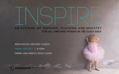 INSPIRE – 13th July, 8-10pm