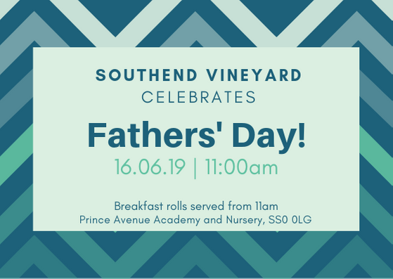 Fathers' Day – 16th June