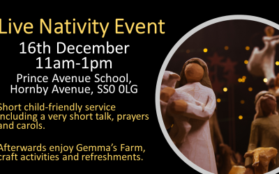 Live Nativity: 16th Dec, 11am-1pm